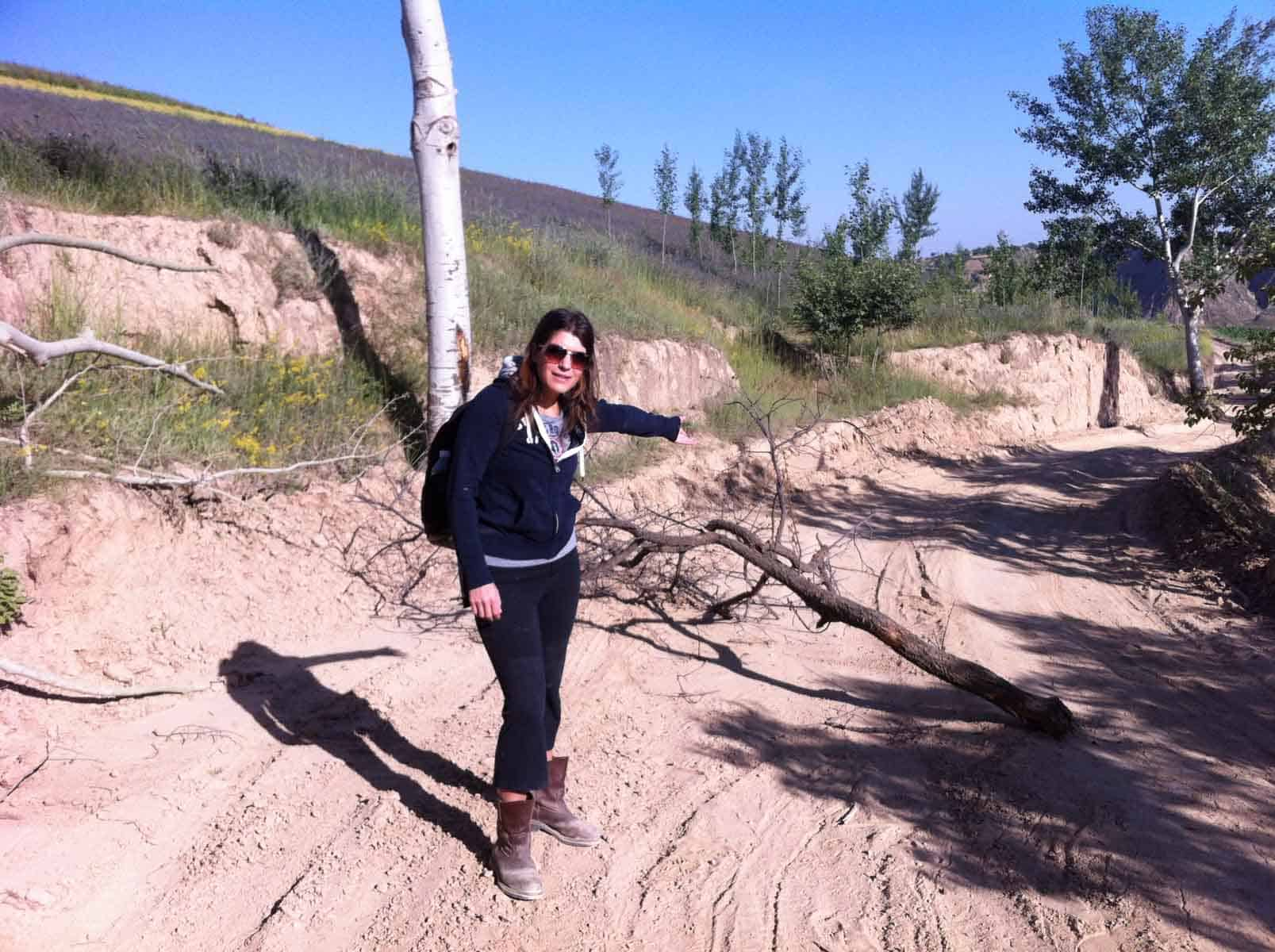 hiking in inner mongolia