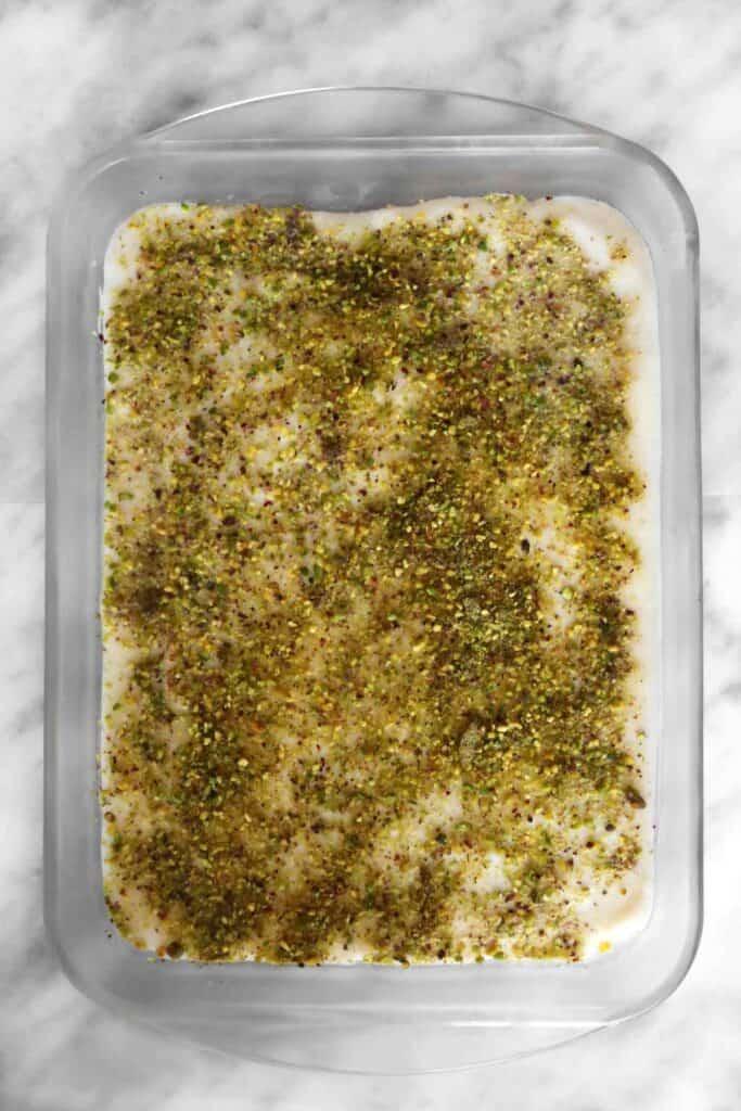 Aish el saraya ready to be served