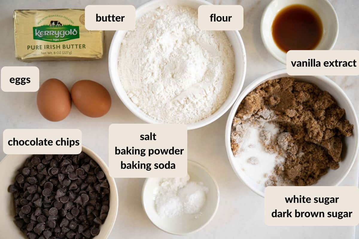 ingredient needed to make Ghirardelli chocolate chip cookies