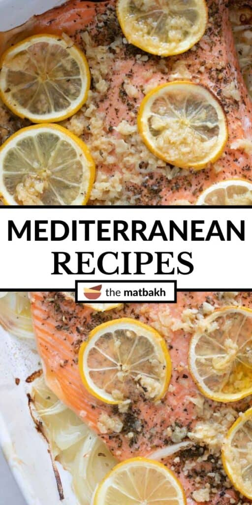 Mediterranean recipes pin